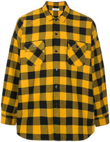 Monkey Time Lumber Check Collared Shirt