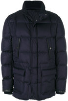 Brioni button-up puffer jacket