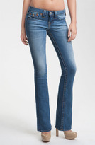 True Religion Brand Jeans 'Becky' Bootcut Jeans (Short Fuse)(Petite)