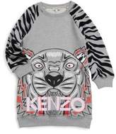 Kenzo Toddler's, Little Girl's & Girl's Tiger Cotton Sweater