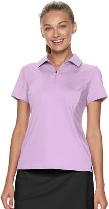 Women's FILA SPORT Zippered Golf Polo