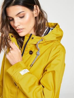 Joules Coast Waterproof Hooded Jacket - Yellow