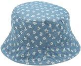 M&Co Floral print denim sun hat