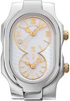 Philip Stein Teslar Stainless Steel Small Signature Three-Hand Watch Head