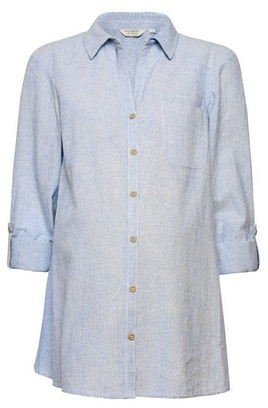 Dorothy Perkins Womens **Dp Maternity Blue Shirt, Blue