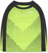 Nike Toddler Boy Dri-FIT Chevron Raglan Tee