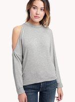 Ella Moss Ashlee Lace Up Sweatshirt