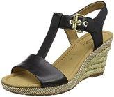 Gabor Shoes Comfort, Women's Wedges, Black (Black (Bast) 47), (39 EU)