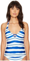 Nautica Morning Horizon Halter Tankini Top Women's Swimwear