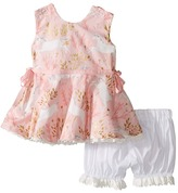 fiveloaves twofish - Ponies Little Party Dress Girl's Dress