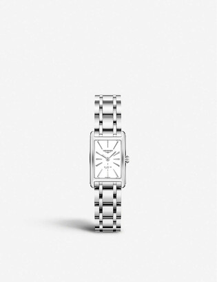 Longines L55124116 DolceVita stainless-steel watch