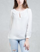 A.P.C. White Sandy Blouse
