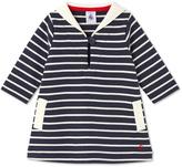 Petit Bateau Baby girls dress with sailor collar