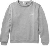 Acne Studios Fint Fleece-Back Cotton-Jersey Sweatshirt