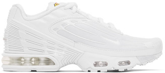 Nike White Air Max Plus III Sneakers
