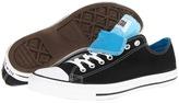 Converse Chuck Taylor All Star Double Tongue Ox (Black) - Footwear