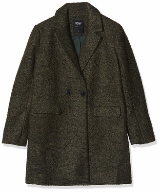 Only Women's Onlally Boucle Wool Coat Cc OTW