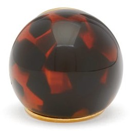 Fendi Spherical Large Tortoiseshell-effect Ring - Brown