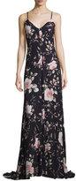 Alice + Olivia Alves Floral-Print Maxi Dress