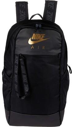 Nike Essentials Backpack (Black/Black/Metallic Gold) Backpack Bags