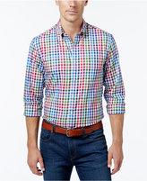 Club Room Men's Check Long-Sleeve Shirt
