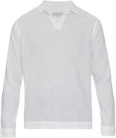 Orlebar Brown Ridley long-sleeved linen shirt
