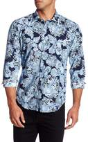 Ganesh Long Sleeve Floral Print Shirt
