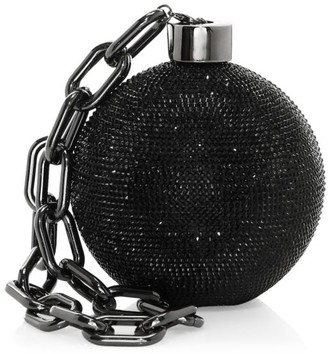 Judith Leiber Couture Ball & Chain Crystal Clutch