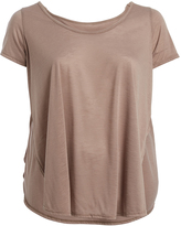Paparazzi Khaki Scoop-Neck Top - Plus