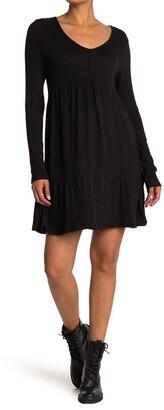 Cloth By Design V-Neck Tiered Dress