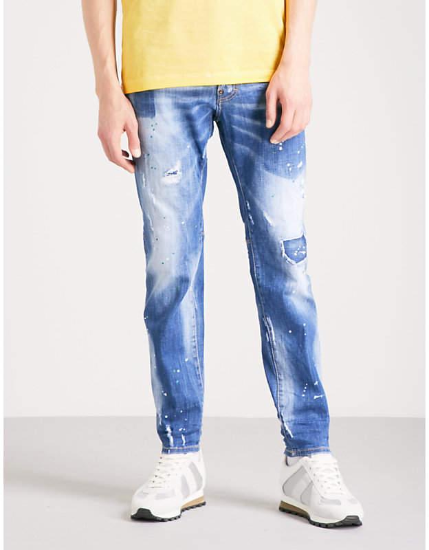 DSQUARED2 City Biker slim-fit skinny jeans
