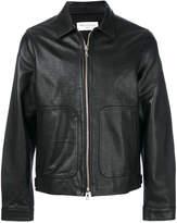Officine Generale front pocket zip jacket