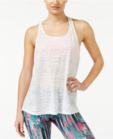 Material Girl Active Juniors' Sheer Racerback Tank Top, Only at Macy's