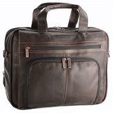Kenneth Cole Reaction Colombian Leather Expandable 15.4in Computer Portfolio