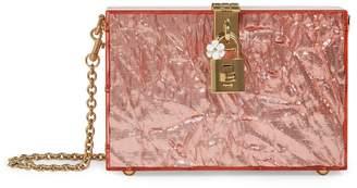 Dolce & Gabbana Embellished Box Clutch Bag