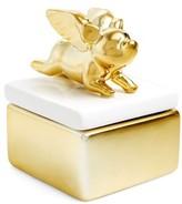 Shiraleah Flying Pig Trinket Box - Metallic