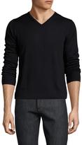 Slate & Stone Merino Wool V-Neck Ribbed Sweater