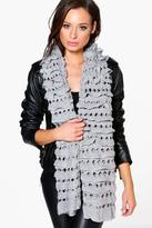 Boohoo Sophie Chunky Knitted Scarf
