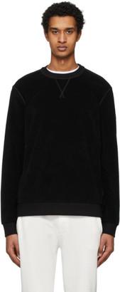 Moncler Black Cotton Sweatshirt