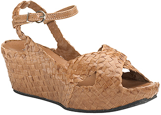 Sheridan Mia - 6478 - Corda Woven Leather Wedge Sandal
