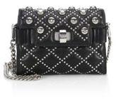 Miu Miu Studded Leather Chain Shoulder Bag