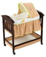 Summer Infant Swingin Safari Classic Comfort Wood Bassinet in Espresso