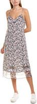 Rag & Bone Ilona Silk Midi Dress