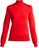Givenchy High-neck Knit Top - Womens - Red