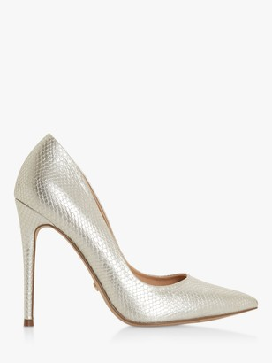 Dune Astrid Pointed Toe Court Shoes