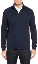 BOSS GREEN Men's 'Piceno' Quarter Zip Sweatshirt