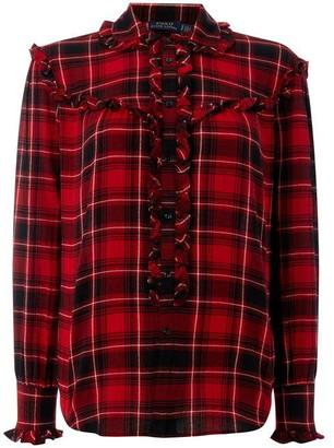 Polo Ralph Lauren Ruffle Checked Shirt