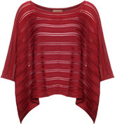 Isolde Roth Plus Size Cotton blend oversize knitted top