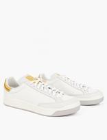 adidas Rod Laver Super 24k Gold Leaf Sneakers