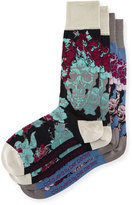 Per Pedes Two-Pair Calavera Sock Set